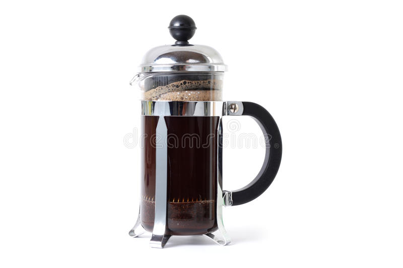 Coffee press stock photos