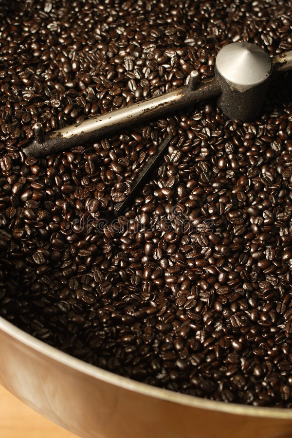 Download Coffee Roaster Bean Cooling Stock Image - Image: 3863381