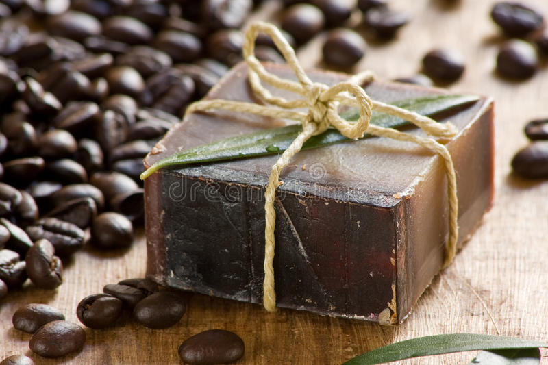 Download Coffee scented soap stock photo. Image of beauty, coffee - 15508680
