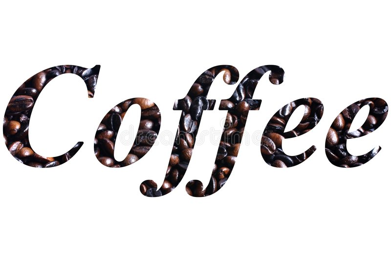 Download Coffee Script stock illustration. Image of roasted, word - 6143753