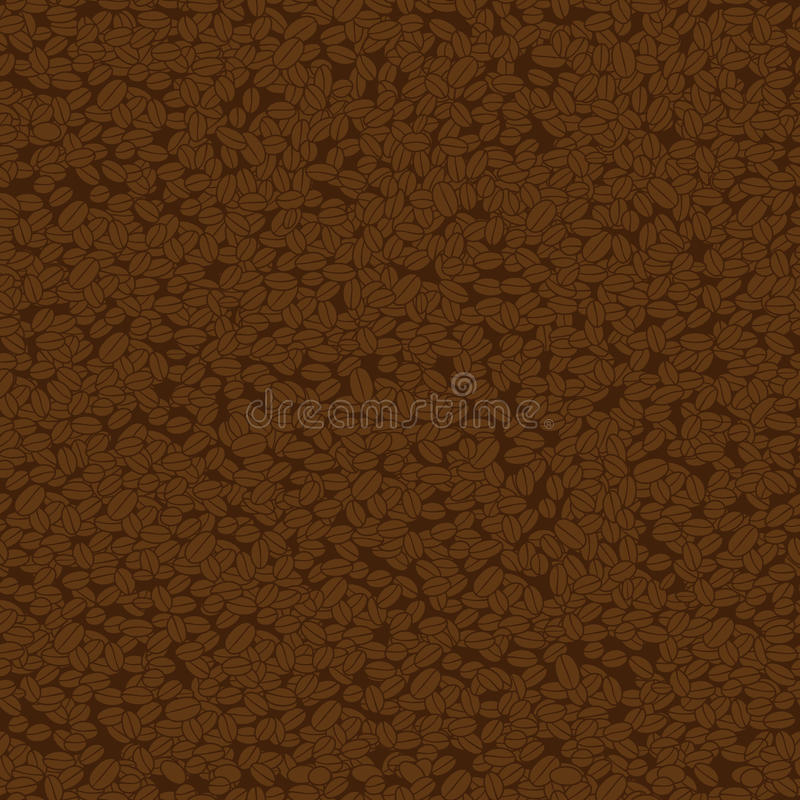 Download Coffee seamless background stock vector. Image of seamless - 26338407