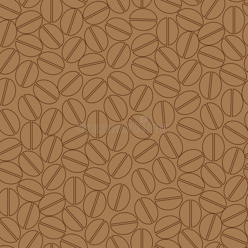 Download Coffee seamless pattern stock vector. Illustration of background - 11441184