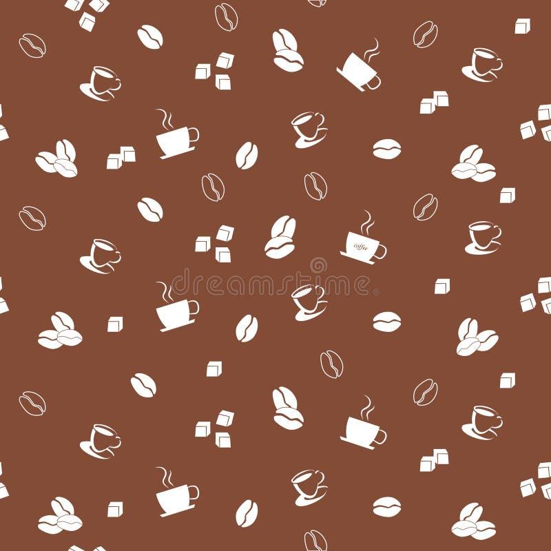 Download Coffee seamless pattern stock vector. Illustration of break - 23046378