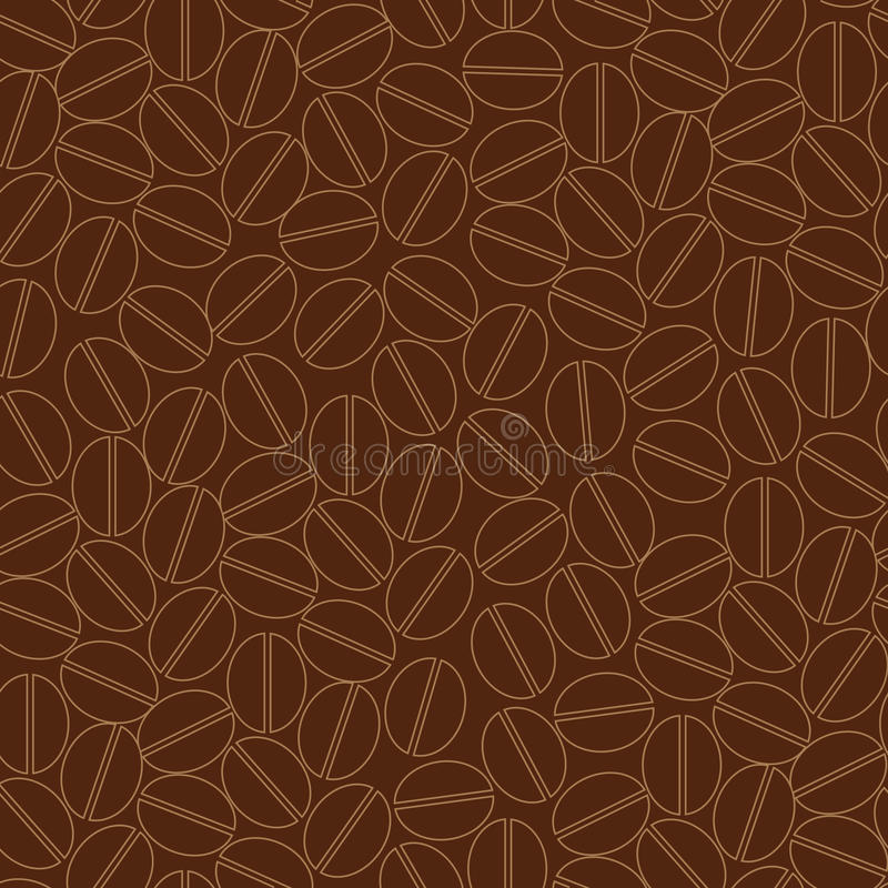 Download Coffee seamless pattern stock vector. Image of caffeine - 9744791