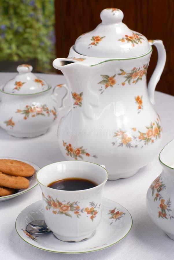 Coffee set royalty free stock image