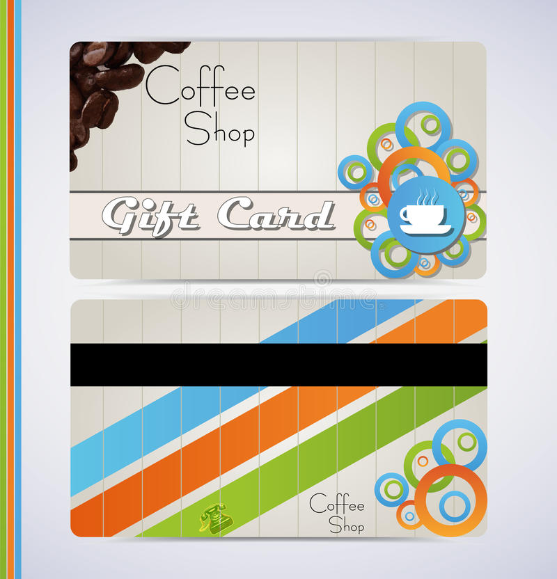 Download Coffee shop stock vector. Image of beans, color, retail - 24924660