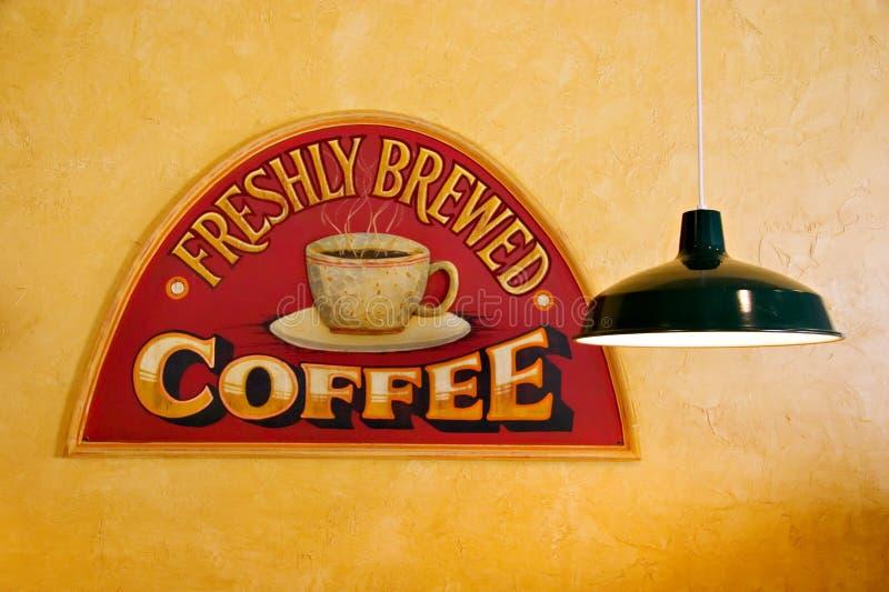 Coffee Shop Sign stock photos