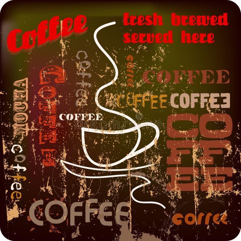 Coffee sign stock illustration