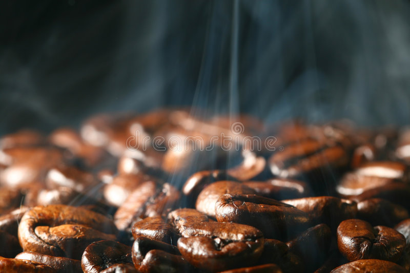 Download Coffee in smoke stock photo. Image of brown, dark, backdrop - 5916692