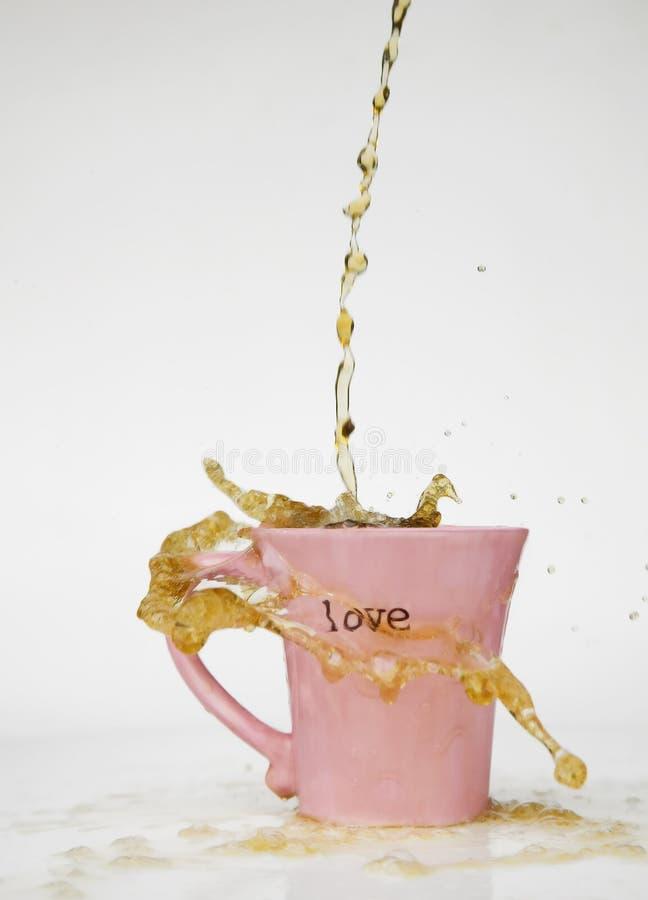 Free Coffee Splash Love Mug Stock Photo - 2907080