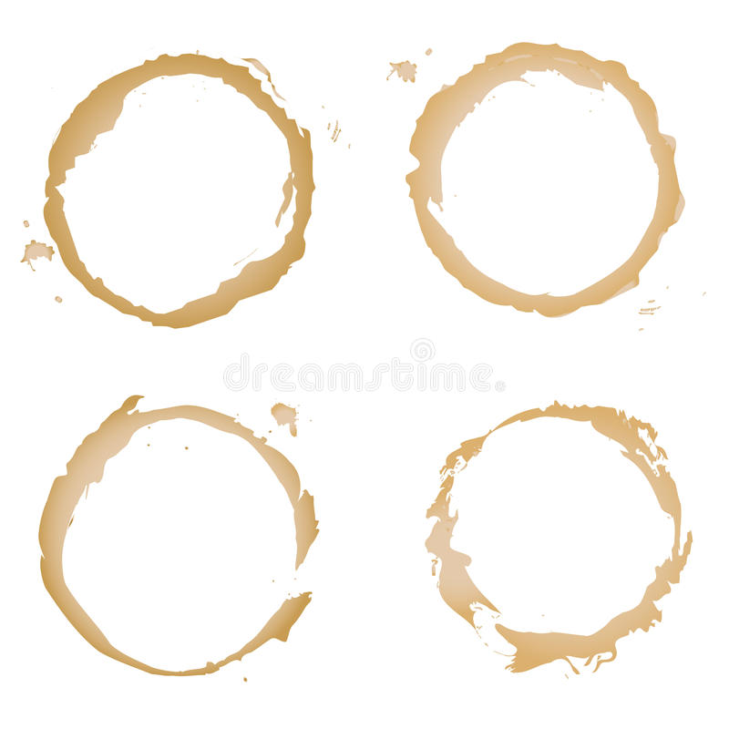 Coffee Stain Stock Images