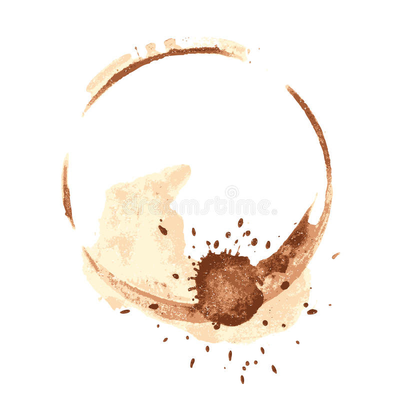 Download Coffee Stains Royalty Free Stock Photography - Image: 20643747