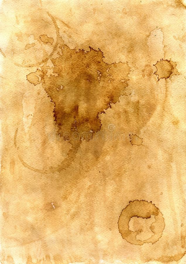 Free Coffee Stains On The Paper Royalty Free Stock Image - 88315276