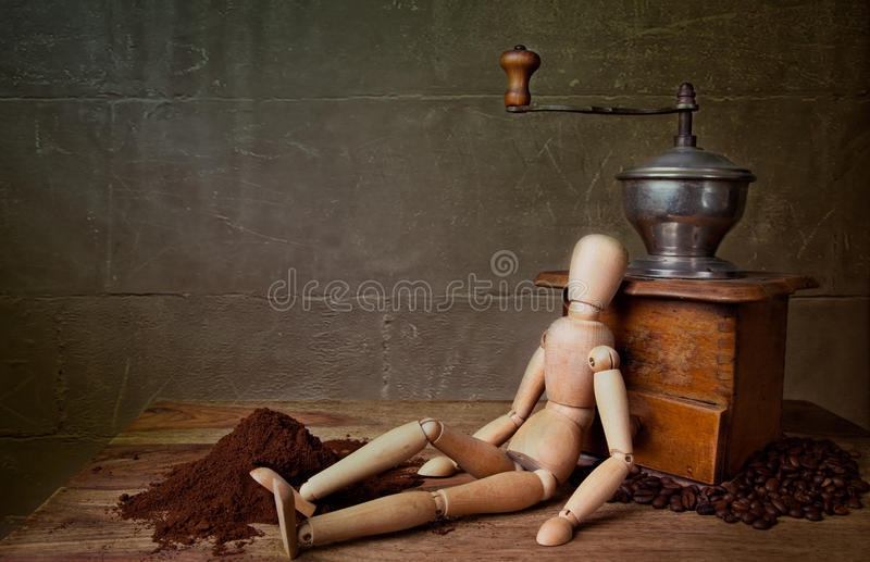 Coffee Still Life royalty free stock images