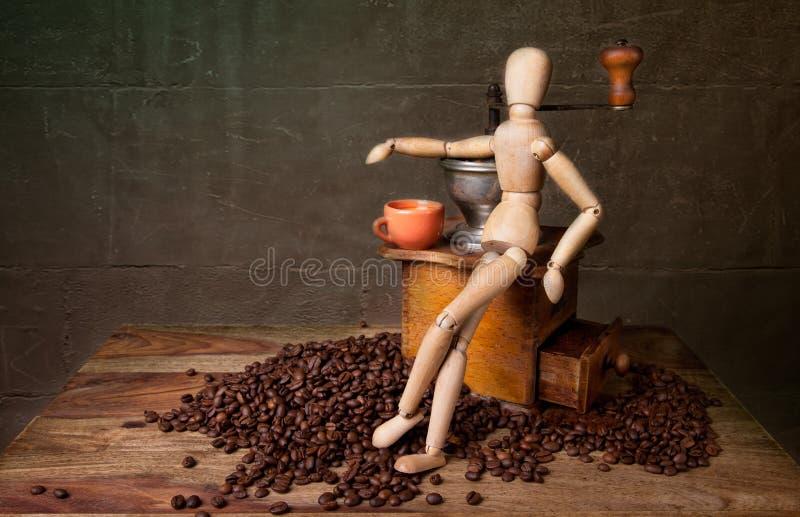 Coffee Still Life royalty free stock photos