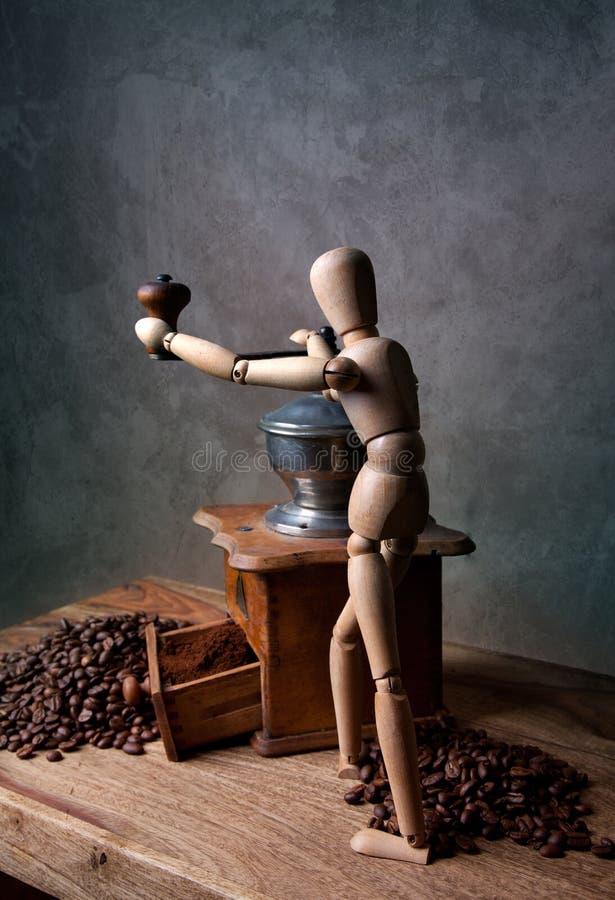 Coffee Still Life stock image