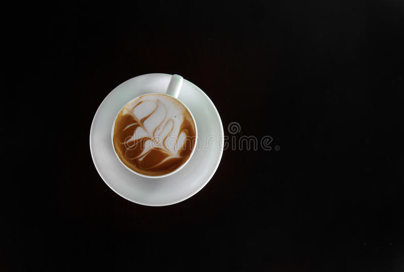 Coffee on table royalty free stock images