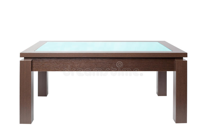 Download Coffee Table In Wood Royalty Free Stock Photo - Image: 21192665