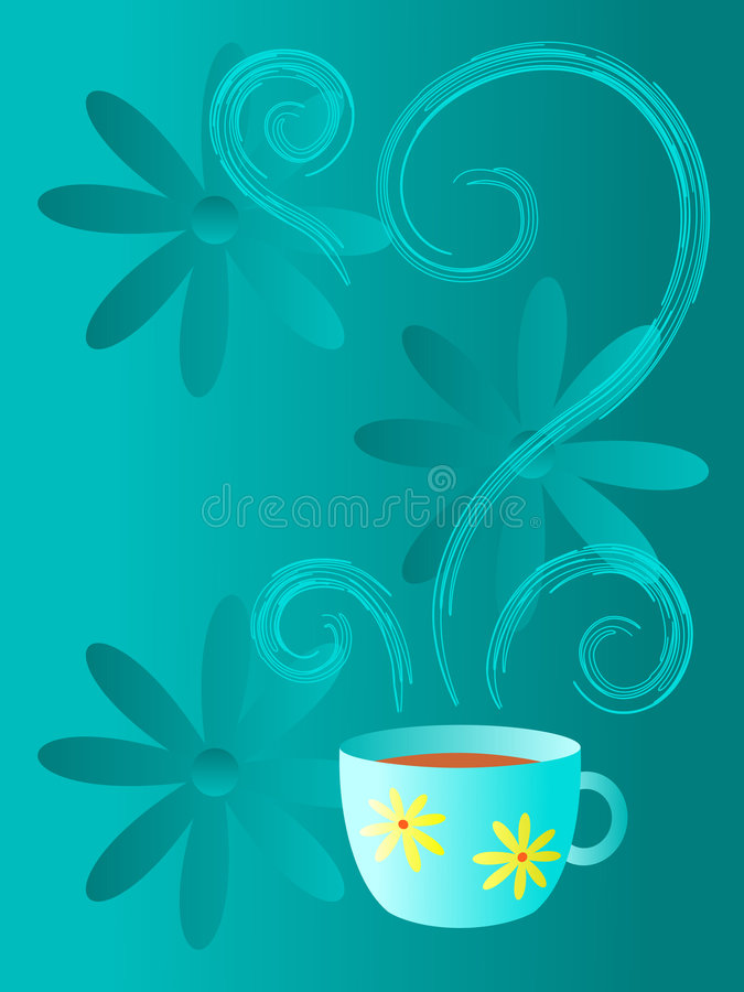 Coffee or Tea? royalty free illustration
