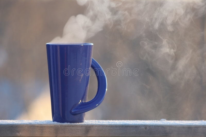 Coffee, Tea or Hot Chocolate stock images