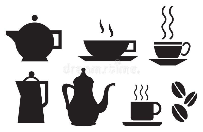 Coffee and tea tableware set