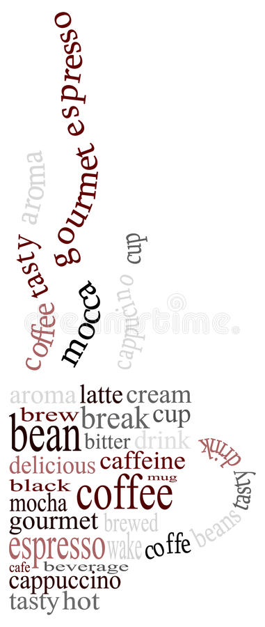 Free Coffee Text Royalty Free Stock Image - 11242416