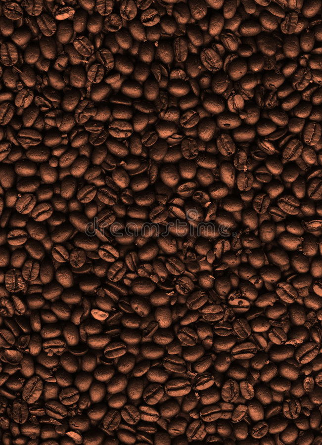 Coffee texture. High quality texture of coffee