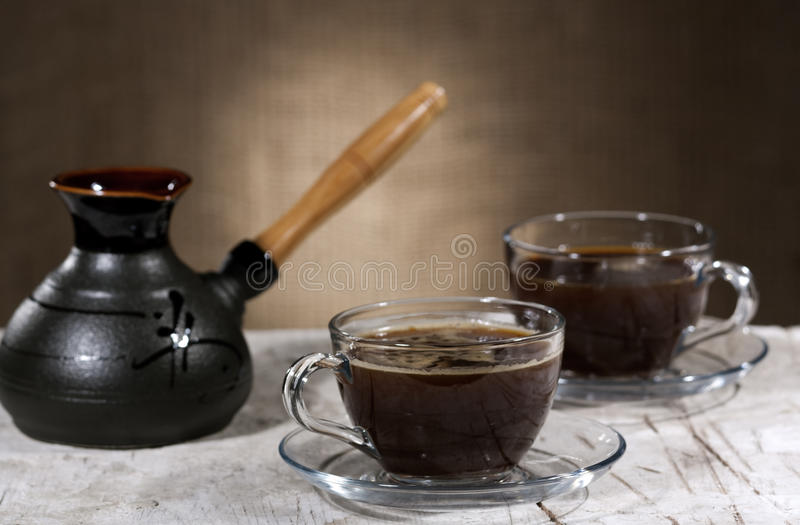 Coffee time royalty free stock photography