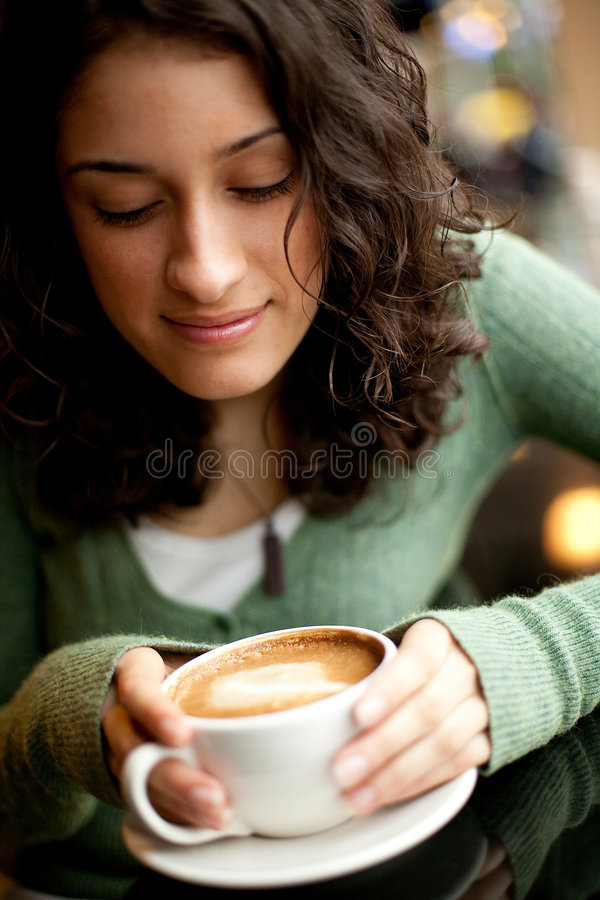 Download Coffee Time stock photo. Image of cappuccino, saucer, beautiful - 8458346