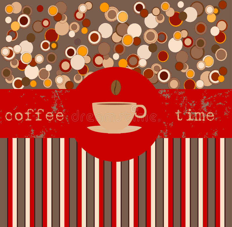 Free Coffee Time, Design Template Royalty Free Stock Image - 23995016