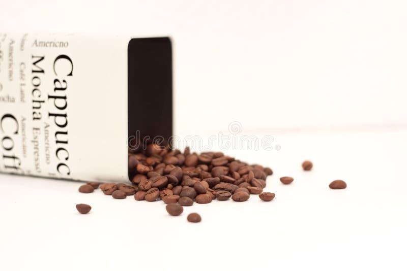 Coffee tin stock photo