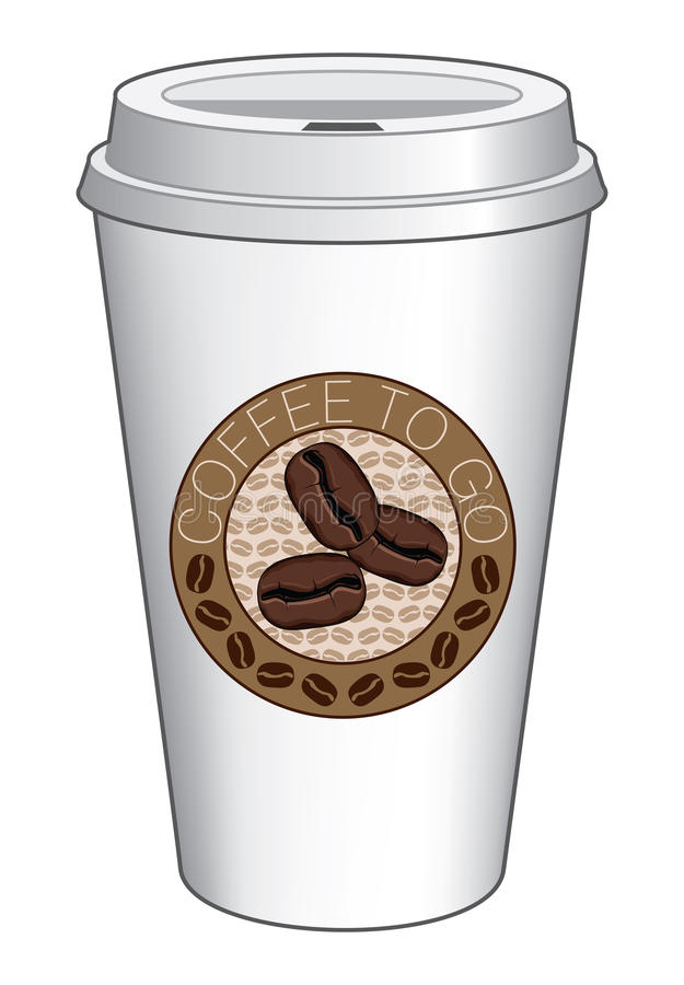 Download Coffee To Go Cup Design With Beans Stock Photos - Image: 37641923