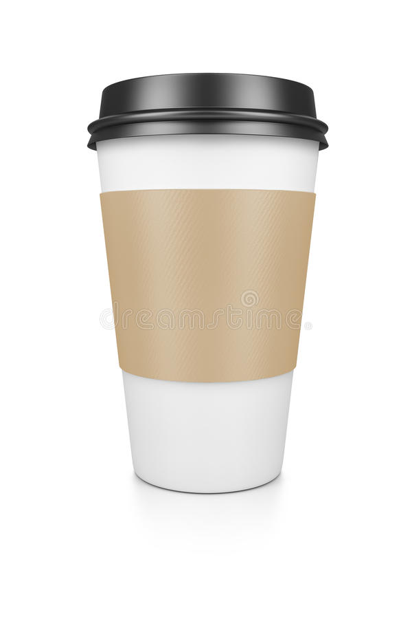 Coffee to go royalty free stock photos