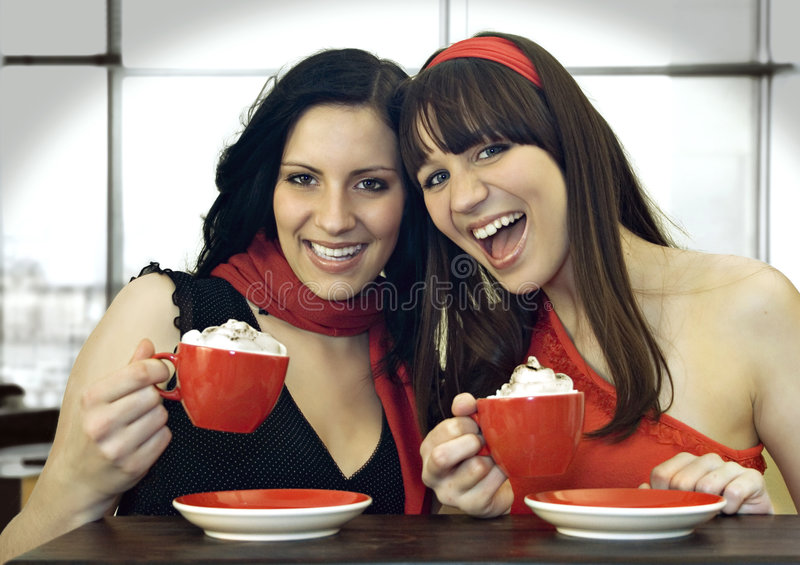 Coffee together 1 royalty free stock photos