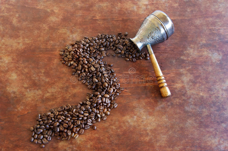 Download Coffee from the Turks stock photo. Image of roasted, vintage - 25787646