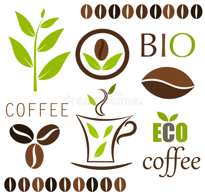 Download Coffee vector elements stock vector. Illustration of object - 20550772