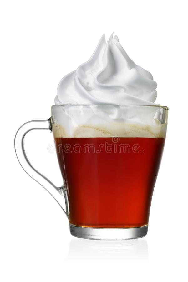 Free Coffee Vienna Or Con Panna Isolated Stock Images - 133152354