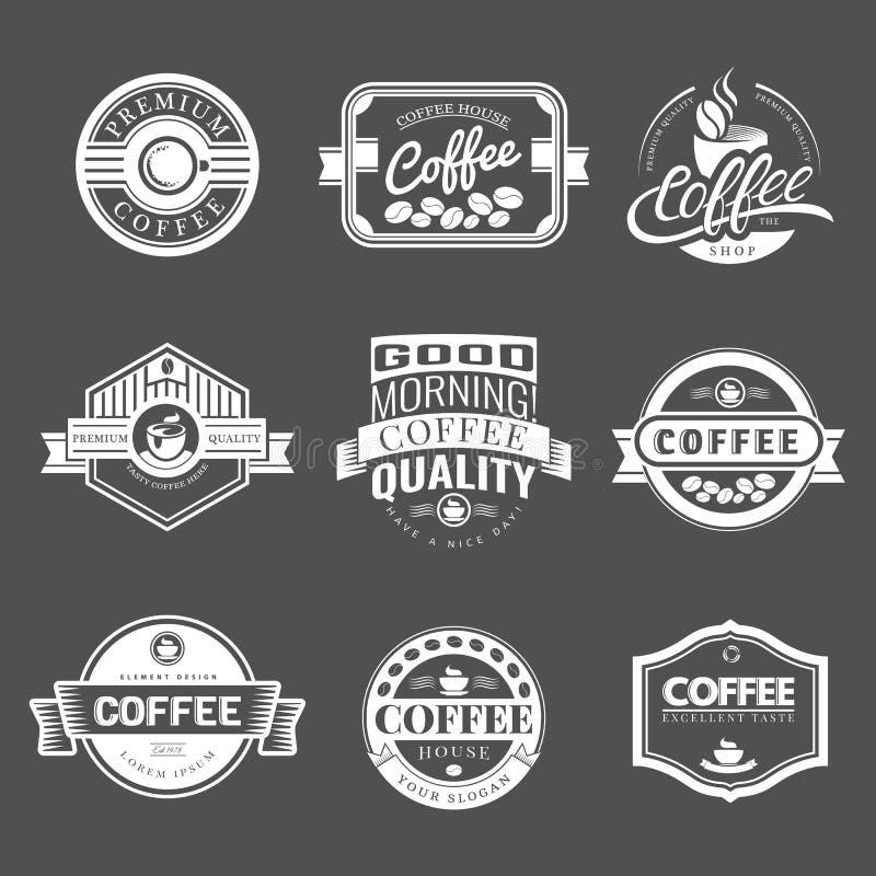 coffee vintage logo stock vector illustration of label 59051478. Black Bedroom Furniture Sets. Home Design Ideas
