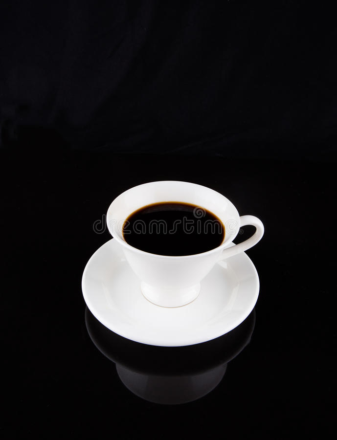 Coffee In White Mug II royalty free stock image