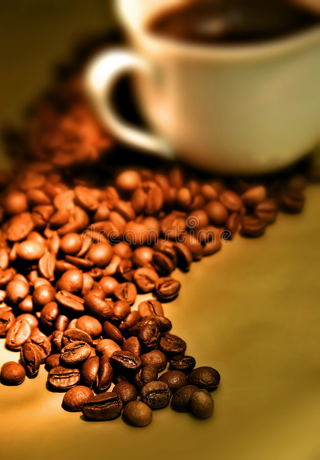 Coffee2 foto de stock royalty free