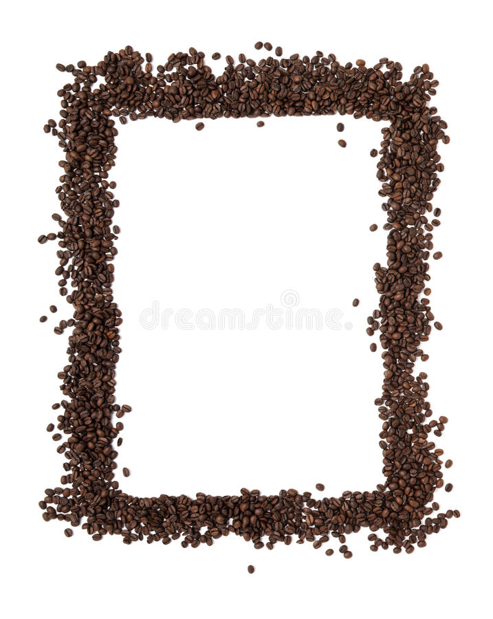 Coffeebean frame royalty free stock images