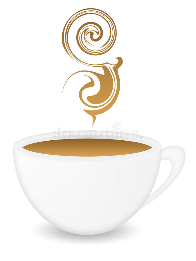 coffeecup συμπαθητικός ελεύθερη απεικόνιση δικαιώματος