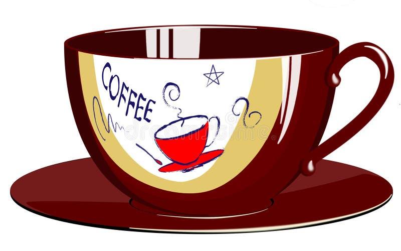 Download Coffeecup stock illustration. Image of full, start, liquid - 14973288