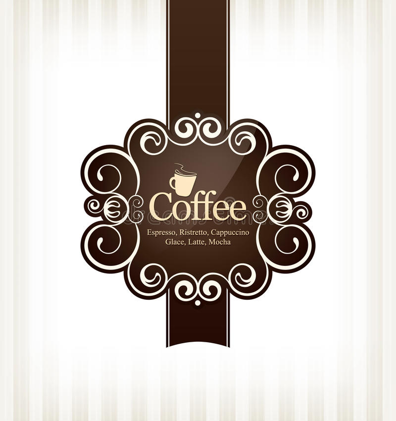 Download Coffeehouse menu design stock vector. Illustration of decorate - 23463026