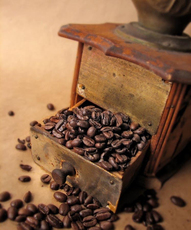 coffeemill arkivfoto