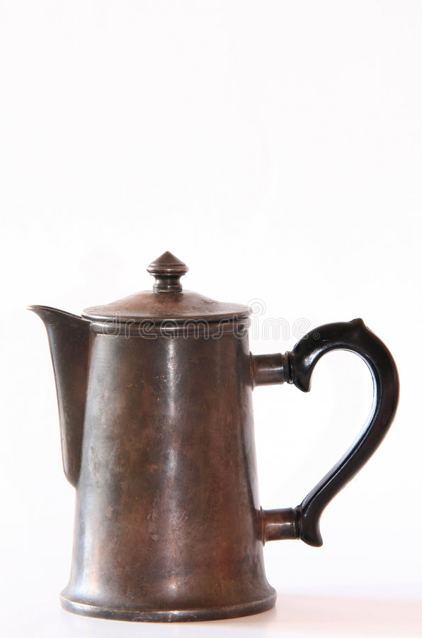 coffeepot royaltyfria foton