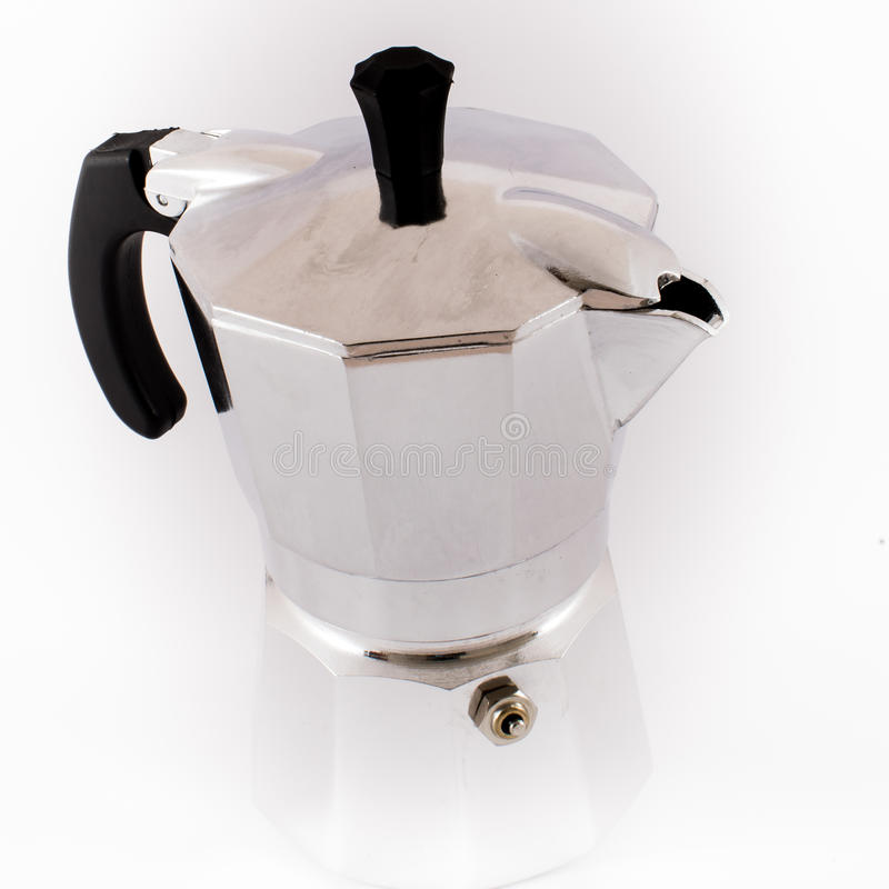 coffeepot imagen de archivo libre de regalías