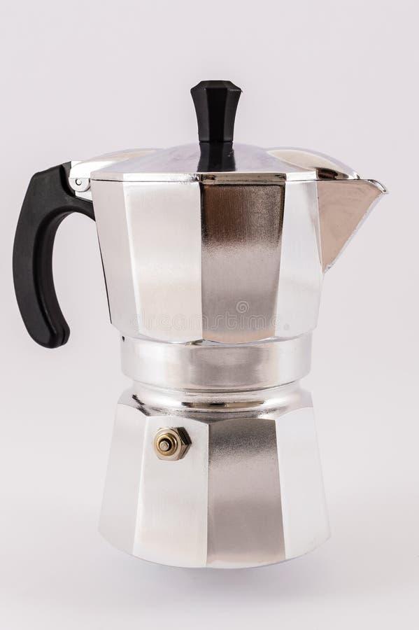 coffeepot fotografía de archivo