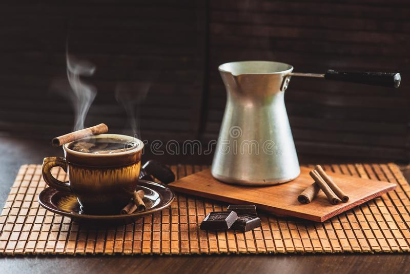 CoffeeTime imagens de stock