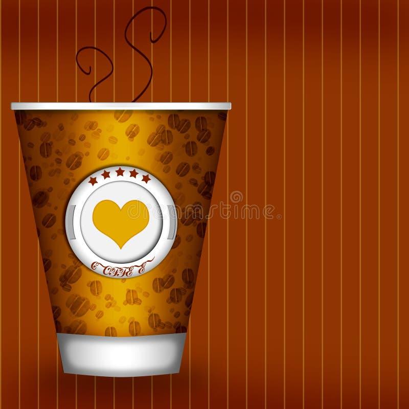 Coffey tło ilustracji